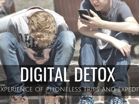 Thumb digital detox
