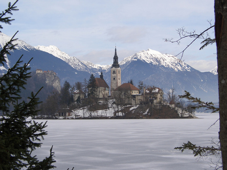 Thumb lake bled winter